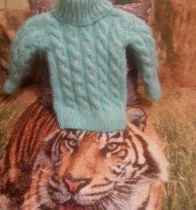 пуховые вязанные свитера