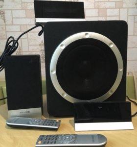 Сабвуфер Microlab H510 5.1 на запчасти или ремонт.