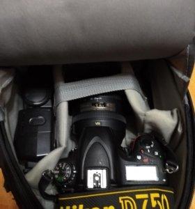 Фотоаппарат Nikon D750 + kit Nikon 24-120mm f/4G