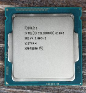 Процессор Intel g1840 socket 1150
