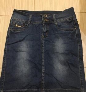 Юбка джинсовая новая, 42-44