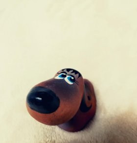 Фигурка-дудка Собака