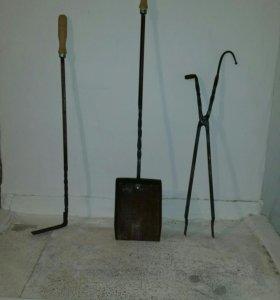 Комплект для мангала и камина