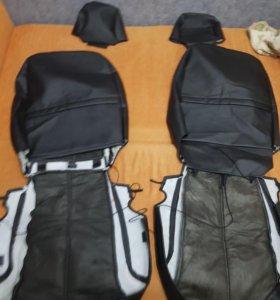 Чехлы на сиденья Polo 5, седан (2009-2015)