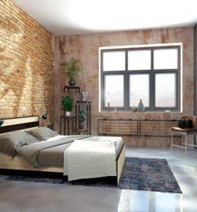 Спальня модульная Лирика