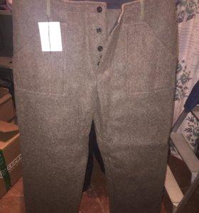 Утеплённые зимние брюки (новые)