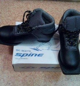 Лыжные ботинки SPINE NN75 Cross (35 р-р) (черный)