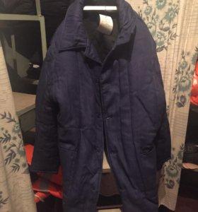 Куртка рабочая ватная (новая)