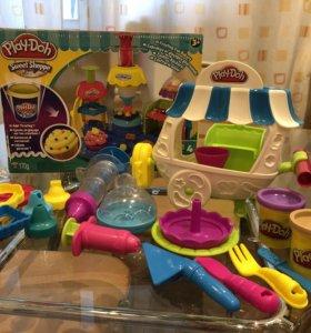 Play-Doh набор «Вагончик мороженого»