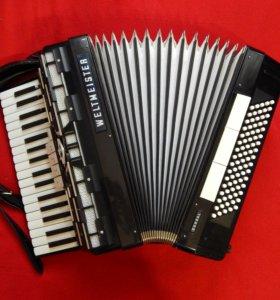 Отличный аккордеон weltmeister cordal 3/4 (чёрный)