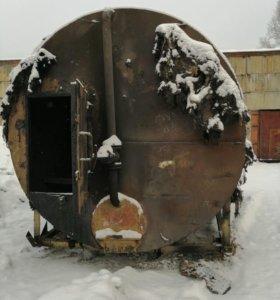 Бочка для изготовления древесного угля
