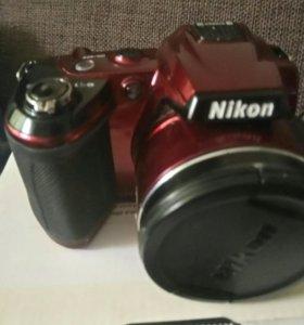 Фотоаппарат Nikon Coolpix L120 цифровая фотокамера