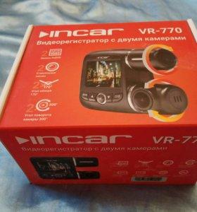 Видеорегистратор Incar VR-770 с двумя камерами