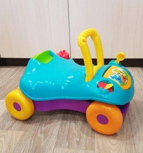 Ходунки Playskool Hasbro каталка-машинка