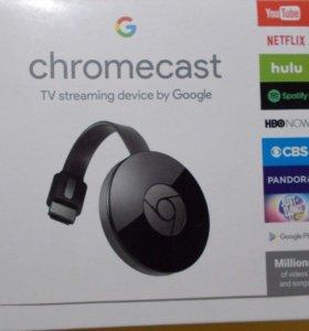 Беспроводной медиаплеер Google Chromecast 2015 нов