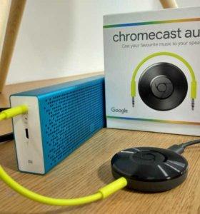 Google Chromecast Audio - новые, запечатанные