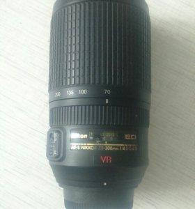 Объектив Nikon 70-300 mm 1:4,5-5,6G