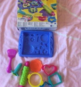 Play Doh магазин печенья.