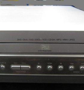 DVD/VHS-плеер-рекордер BBK DW9938S