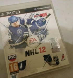Nhl 12 на PlayStation3 ( лиц )