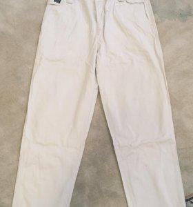 Фирменные Хлопковые брюки 38