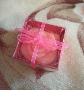 """свеча """"цветок"""""""