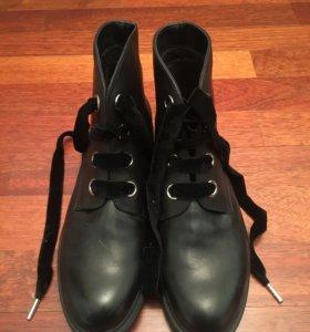 Ботинки кожаные PAZOLINI