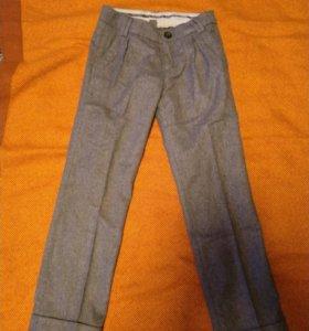 Шерстяные брюки ZARA