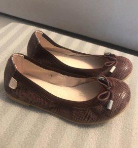 Туфли кожаные, 26 р-р