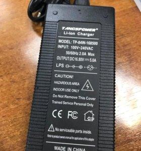 Блок питания Li-ion 16,8В 5А штекер 5,5х2.1мм