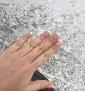 Наращивание и укрепление ногтей гелем