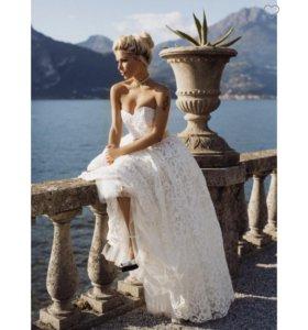 Свадебное / вечернее дизайнерское платье