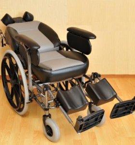 Кресло-коляска,новая.вес пользователя; до 150кг