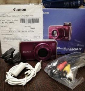 Цифровой фотоаппарат Canon powershot sx 210 is