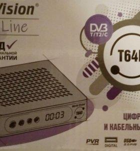DVB-T2-C приставка, медиаплеер World Wision 64D