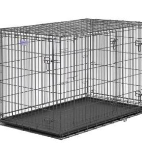 Клетка midwest 122х76х84 трёхдверная