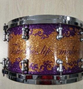 Кастомный малый барабан Phattie Drums USA