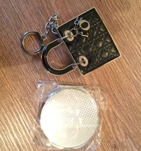 Dior тени для век и помада оригинал б/у