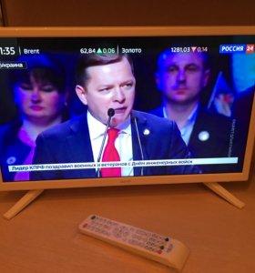 Телевизор 22 дюйма FullHD + цифровое