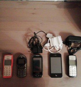 Телефоны на зап. части