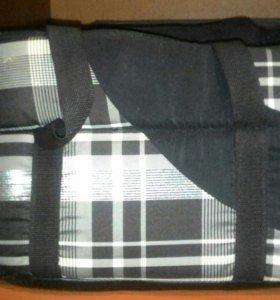 Зимняя,тёплая сумка-переноска