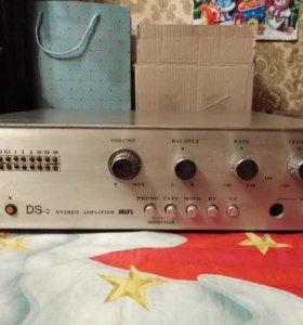 Hi-Fi усилитель из СССР. Как есть.