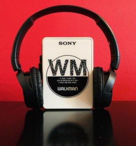 Sony WM-M10 (Кассетный плеер, Tape player)