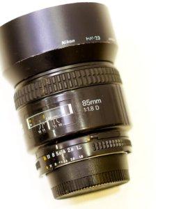 Объектив Nikon AF Nikkor 85mm 1:1.8D