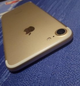 iPhone 7 32GB MN902RU/A Gold! Новый! Стекло, Чехол