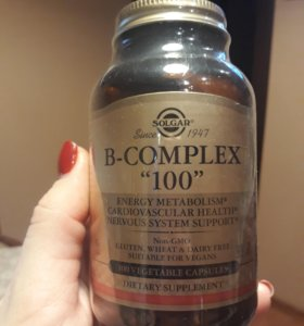 Витамины Solgar B-complex