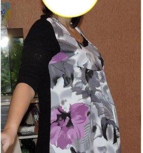 Платье, туника, для беременных