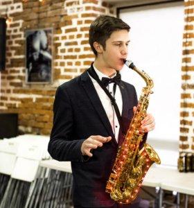 Музыкант Саксофонист живая музыка Москва праздник