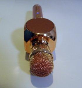 Микрофон беспроводной для караоке 3 в 1