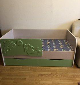 Кровать детская Дельфин
